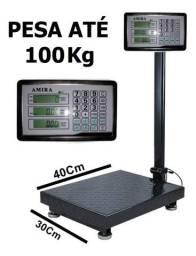Balança digital plataforma 100 kg nova na cx com garantia entrego em Curitiba e região