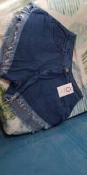 Shorts NOVO veste do 38 ao 40