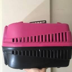 Caixa Transporte Mec Podyum 1, Rosa Mecpet para Cães