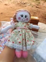 2 boneca de pano