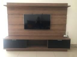 Rack para tv com painel