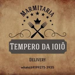 Título do anúncio: Marmitaria Tempero da ioiô delivery Pedircomidaé sempre uma boa ideia