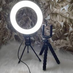 Kit ring Light + suporte para celular