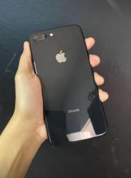 IPhone 8 Plus preto 256 gigas