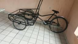 Bicicleta de carga ótima