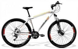 Bicicleta GTS Walk 1.0 ARO 29 Freio a Disco Câmbio Shimano 24 Marchas e Amortecedor GTS