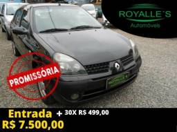 Renault clio sed 7500 + parcelas direto pela loja - 2005