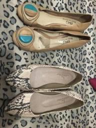 Vendo 2 calçados numeração 36