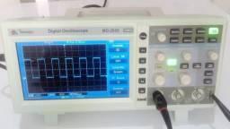 Osciloscópio Digital Minipa 50 Mhz Mo-2025 Usb
