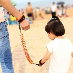 Guia Pulseira De Segurança Coleira Pulso Anti Perda Infantil