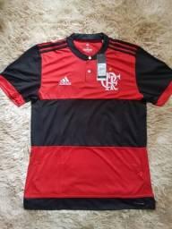 Camisa(tamanho P e G) flamengo original 17 18 7323b5061df7f