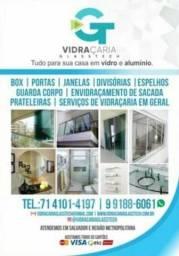 Instalações & Serviços Em Vidro e Alumínio.