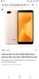 Telefone zenfone max plus