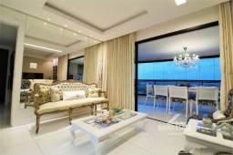 3 quartos no Manhattan Soho, lindamente mobiliado. Varandão gourmet com 21 m²