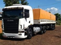 Scania 124 engatado