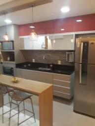 Apartamento 2 quartos sendo um suite com área externa Jardim da Penha!