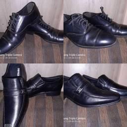 Sapato social, novo e usado
