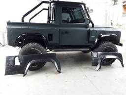 Body kit Defender alargador de paralamas