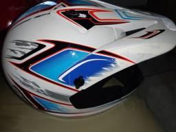 Capacete motocross Tauros Número 60