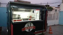 Food truck trailer completo