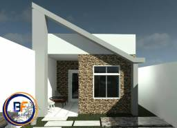 Excelente Casa Plana 2 Quartos em Construção Paracuru - ce