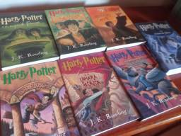Os 7 livros do Harry Potter