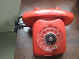Telefone Ericsson de disco Original Vermelho