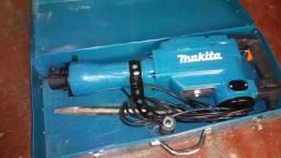 Martelete Rompedor Demolidor Makita 220v 16kg 1510w com Mala - Usado 1 vez!