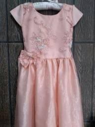 Vestido para festa infantil 6 até 8 anos