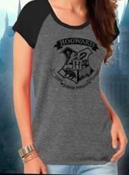 Camiseta Hogwarts Harry Potter - Tamanho G