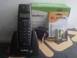 Telefone Sem Fio Intelbras - Bateria Nova