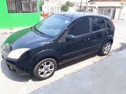 Venda-se ou troca, carro, Fiesta hatch, ano 2008 modelo 2008