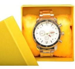 Relógios de aço masculino