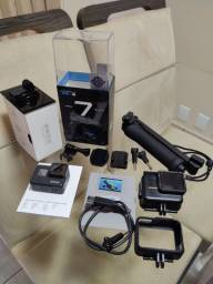 GoPro Hero 7 Black 12MP 4K Wi-Fi Bluetooth - 2? à Prova de Água