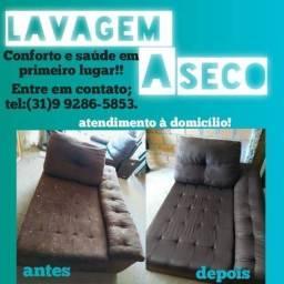 Higiênizaçao de sofá