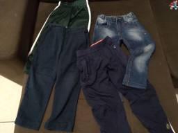 Calças para menino tamanho 4
