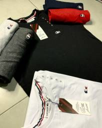 Camisetas multimarcas kit com 10