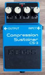Pedal Compression Sustainer Boss CS-3