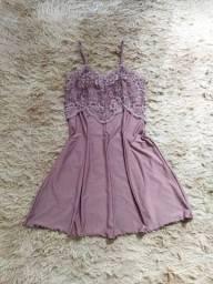 Lingerie lilás M - Nova