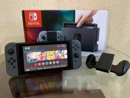 Nintendo Switch 32GB Cinza com 3 jogos digitais