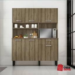 Kit de Cozinha Itatiaia Castanho 1,40 NOVO!