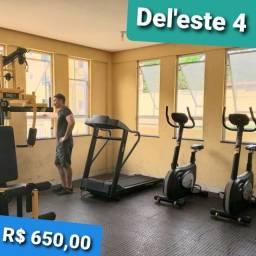 Apto no Village Del Leste 4 - Perto do Sao Cristovao - C/ academia