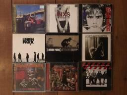 Cds de Rock Internacional U2, INXS, Iron Maiden, Linkin Park