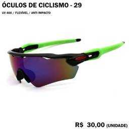 Óculos de Ciclismo com Armação Verde