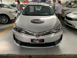Corola 2019/2019 GLI 14.000KM Automático Único Dono Completíssimo Impecável