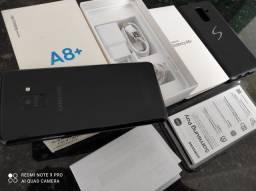 Samsung Galaxy A8 Plus 4/64gb Novo completo troco