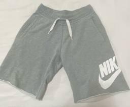 Bermuda Moletom Nike Original Tam P