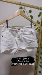 Short e blusinha