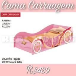 Título do anúncio: CAMA CARRUAGEM CAMA CARRUAGEM