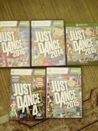 DVDS ORIGINAIS JUST DANCE XBOX360
